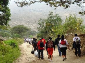 La Libertad: Devotos de la ´Mamita´ inician peregrinación a Otuzco