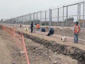 Colocan cercos en terrenos donde ampliarán Aeropuerto Jorge Chávez
