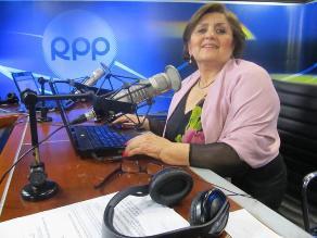 La Dra. Carmen Gonzáles en De Frente y Sin Máscaras