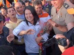 Keiko Fujimori criticó a presidente Humala y le pidió visitar Cajamarca