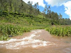 Áncash: escolar desaparece luego de caer al río Santa