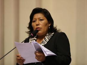 Condori confía en acatamiento del fallo de La Haya por parte de Chile