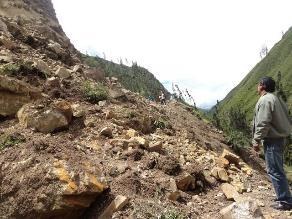 Madre de Dios: Vía Interoceánica permanece bloqueada por derrumbe