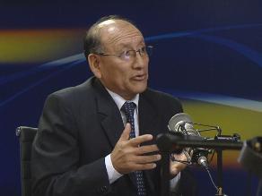 ONPE exhorta al Congreso priorizar debate de Nueva Ley de Partidos