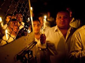 Internos de penal Castro Castro rindieron homenaje a Nelson Mandela