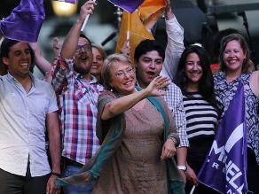 Izquierda chilena retoma el poder con triunfo de Michelle Bachelet
