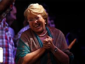 La socialista Michelle Bachelet es la nueva presidenta de Chile