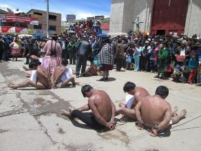 Puno: Delincuentes asaltan y golpean ronderos en Carabaya