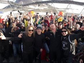 Evenpro: llegada de Metallica a Lima promoverá turismo metalero en Perú