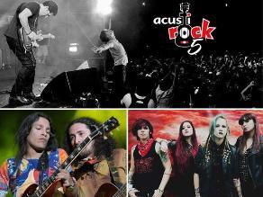 ´Acustirock V´: Dos días de rock con un solo ticket