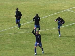Huancayo: Real Garcilaso entrena en el estadio Mariscal Castilla