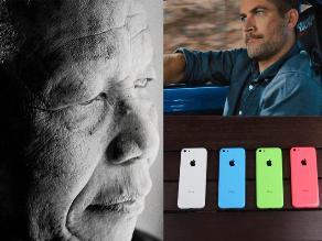 Mandela, Paul Walker y el iPhone 5, los más buscados en Google 2013
