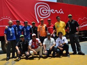 Dakar 2014: Perú presentó los nueve equipos que participarán del rally