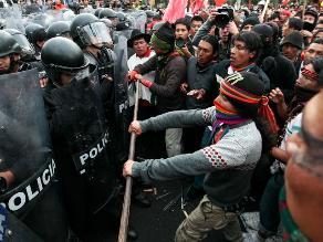 Caso Baguazo: Denuncia contra indígenas puede ser archivada