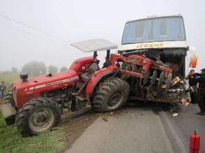 Virú: Densa neblina origina accidente fatal en la Panamericana Norte