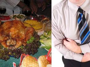 Evite la intoxicación navideña: Cuidado con exceso de comida y alcohol