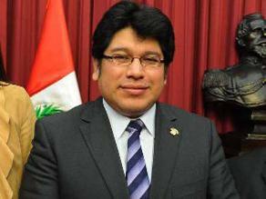 Congreso: Rechazan pedido para levantar inmunidad de Rennán Espinoza