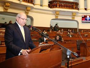 Pleno del Congreso aprobó interpelar al ministro de Defensa