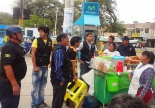 Huaylas: unos 200 ambulantes fueron desalojados del mercado de Caraz
