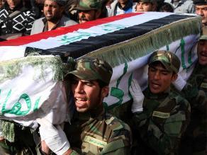 Policía iraquí se lanza sobre atacante suicida y salva a peregrinos