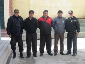Retienen a tres personas acusadas como asaltantes en Carabaya