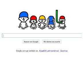 Google da la bienvenida al verano con divertido doodle