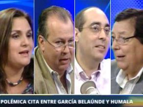 Políticos creen en García Belaunde, pero también que cometió un error