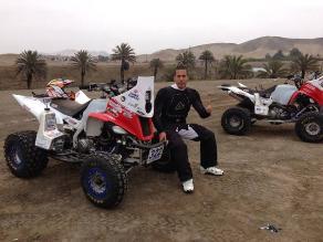 Atilio Encomendero: Es mi primera vez en un Dakar y quiero acabarlo