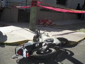 Piura: un muerto y un herido dejó accidente de tránsito en Las Lomas
