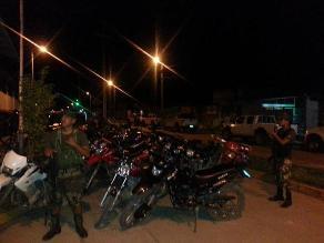 Cusco: Intervienen motocicletas sin documentación