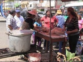 Trujillo: La venta de pavo alcanzó los 200 soles en víspera de Navidad