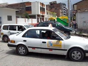 Feria navideña ocasiona caos vehicular en Huancayo