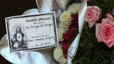 Chimbote: dejan arreglo floral para funeral en Fiscalía Anticorrupción