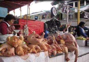 Huancayo: Precio del pavo y pollo se incrementó hasta los once soles