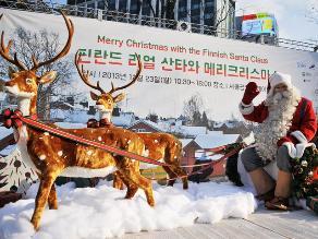EEUU ´autoriza´ entrada de Papá Noel y sus renos para repartir regalos