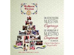 Nadine Heredia envía saludo por Navidad a los peruanos
