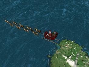 Navidad: Sigue a Papá Noel en su viaje a través del mundo