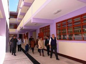 La Libertad: nueva infraestructura educativa por más de S/. 4 millones