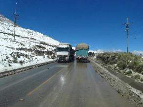 Senamhi prevé nevadas en zonas altoandinas del 25 al 26 de diciembre