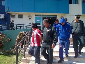 Sullana: policía detiene a banda que planeaba asaltar un banco
