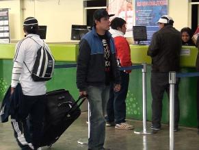 Junín: pasajes hacia Lima alcanzan los 100 nuevos soles