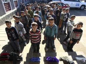 Unicef: Cinco millones de niños sirios necesitan asistencia humanitaria