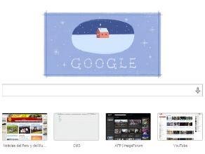 Google lanza un tercer doodle por Navidad