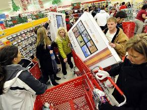 Ventas navideñas en EEUU crecieron 2,3%
