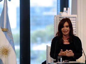 Cristina Fernández descarta