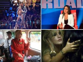 Los 10 escándalos más sonados de los famosos en el 2013
