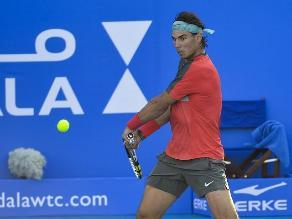 Rafael Nadal le dijo adiós a Abu Dabi tras caer ante David Ferrer