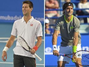 Novak Djokovic y David Ferrer definirán el título de Abu Dabi