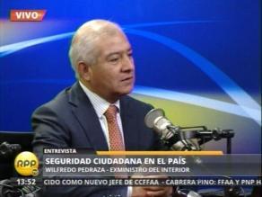 Pedraza reitera que no tenía conocimiento de resguardo a López Meneses