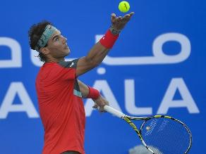 Rafael Nadal derrotó a Tsonga y acabó tercer lugar en Abu Dabi
